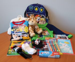 Comfort Kits for Foster Kids Preschool