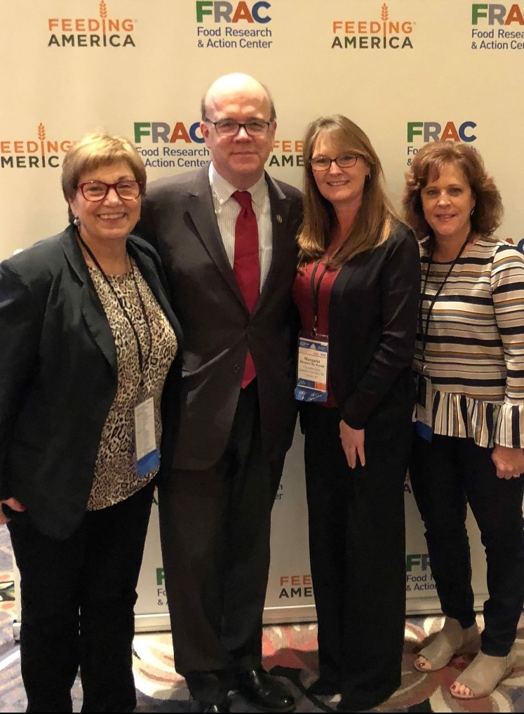 CACFP Staff with Representative Jim McGovern (D. MA)