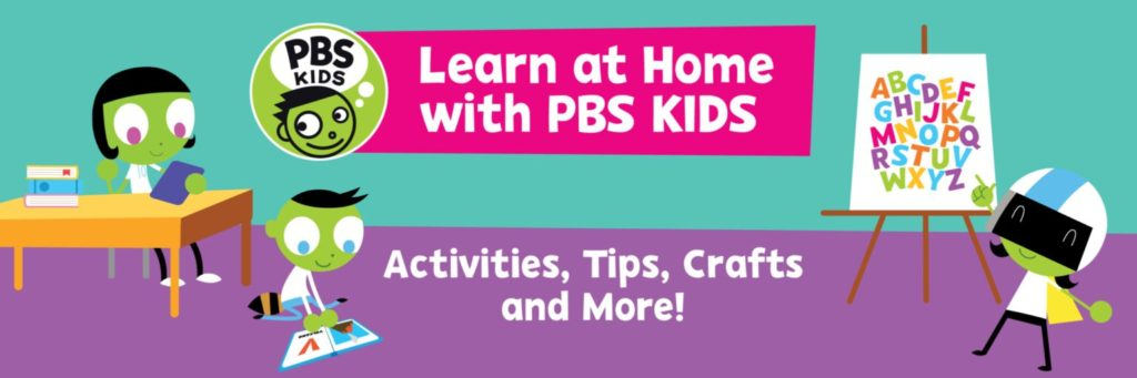 Learn at home, activity ideas